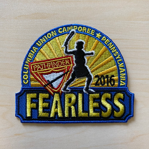Columbia Union Fearless Camporee Patch