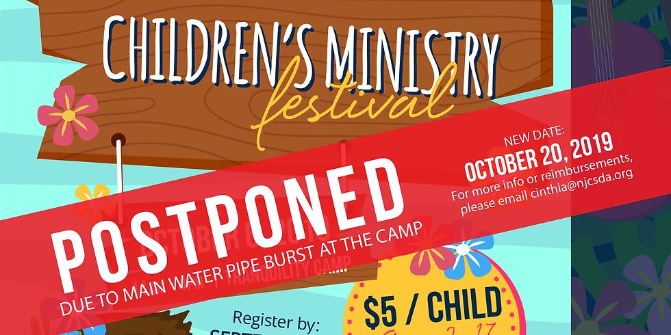 Children's Ministry Festival