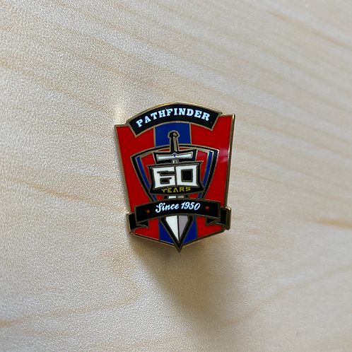 Pathfinder 60th Anniversary Pin