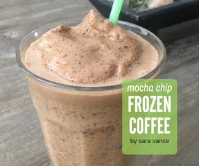 Mocha Chip Frozen Coffee
