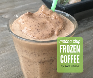 Mocha Chip Frozen Coffee