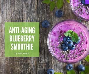 Anti-aging Blueberry Smoothie