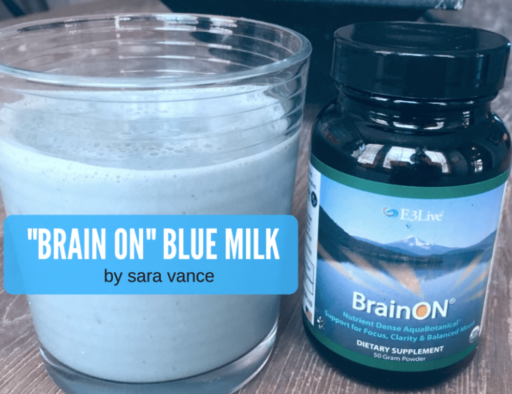 Brain ON Blue Milk