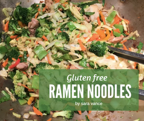 Gluten Free Ramen Stir Fry