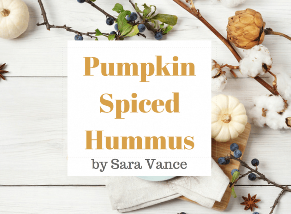 Pumpkin Spiced Hummus
