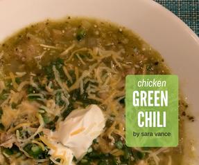 Chicken Green Chili
