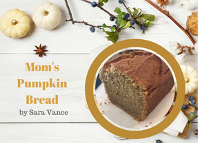 Mom's Pumpkin Bread (grain & gluten free)
