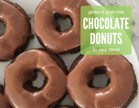 Double Chocolate Donuts - Gluten & Grain free