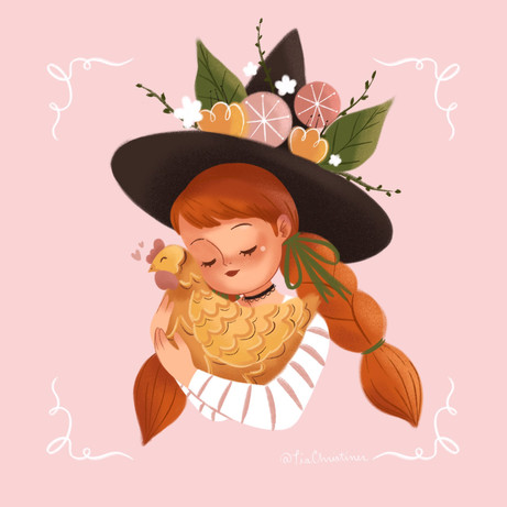 A Witch and Her Pet