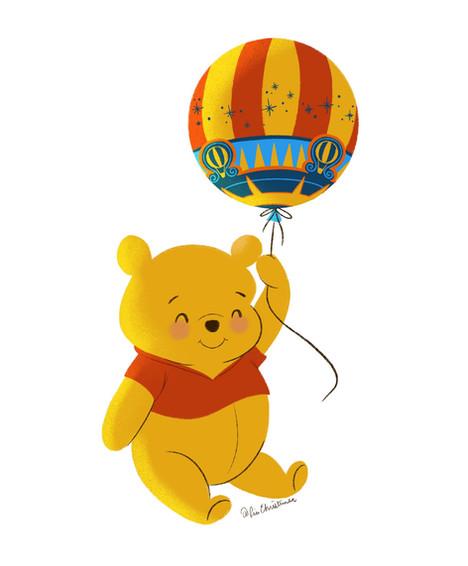 Winnie the Pooh in Paris