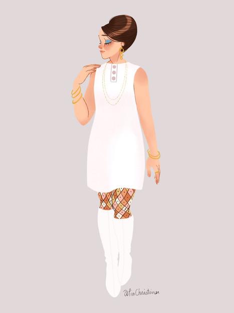1960's Fashion Doll 2
