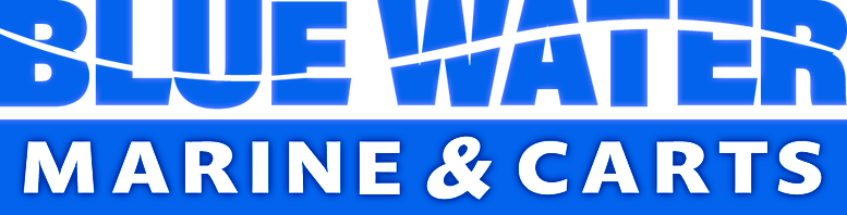 Blue Water Marine & Carts Logo