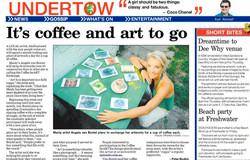 Coffee Heart Exchange - Social Art
