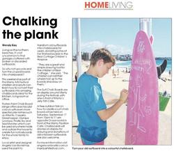 Surfboard Chalk Boards