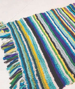 Knitted Carpet 2 x 1.5 mtr