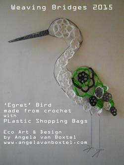 plastic shopping bag crochet