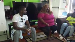 FAF Sterling K Brown Visit Aug 2017