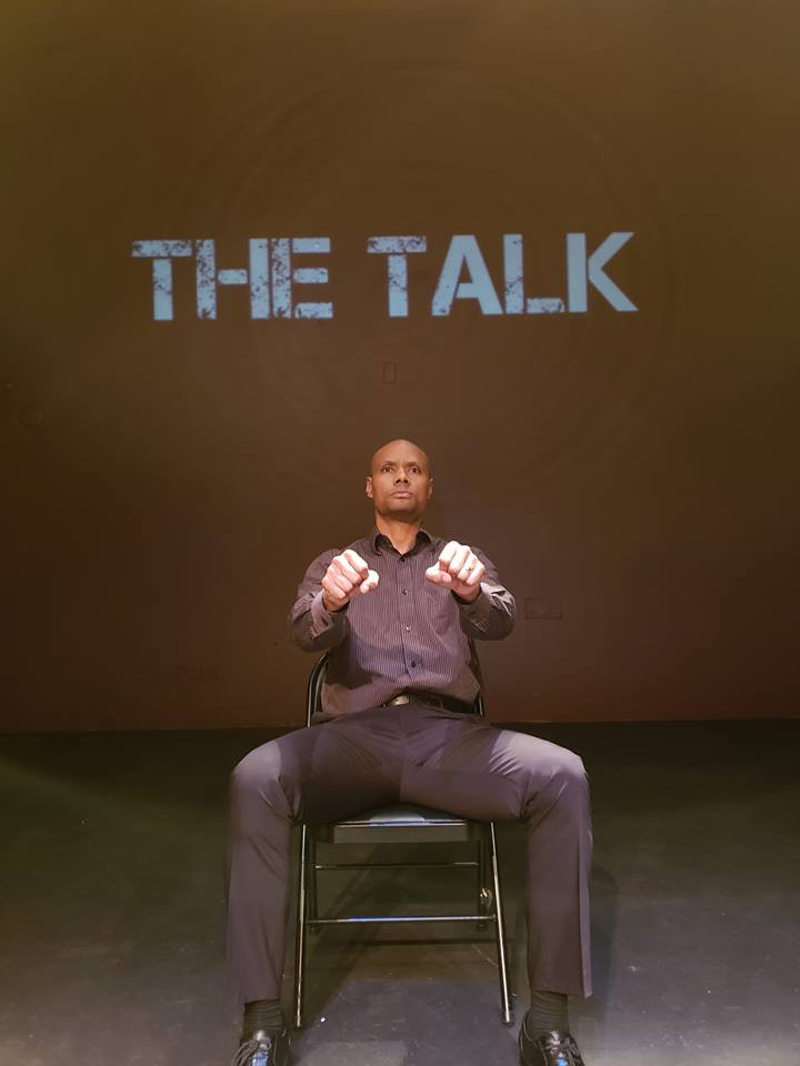 The Talk Raleigh 3Nov18_In driver seat.j