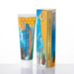 Зубная паста Прекрасная Улыбка. Не содержит: sls, scs, sles, фтор, тяжелые металлы и т.д.