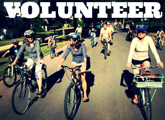 volunteer bike rally