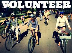 volunteer bike rally