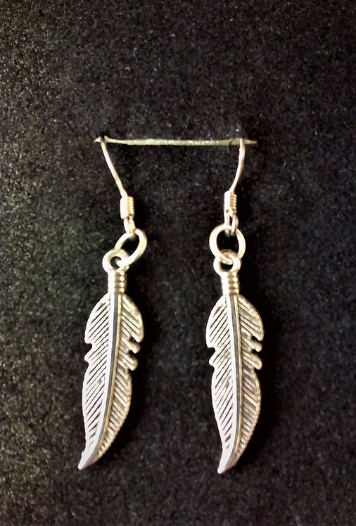 native American style feather earrings