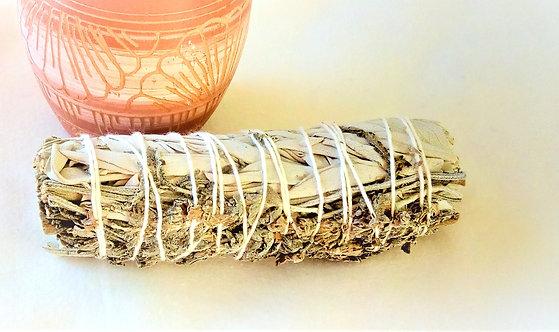 "Californian White Sage & Lavender Smudge Stick 4"""