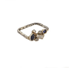 REINA ring with Sapphires