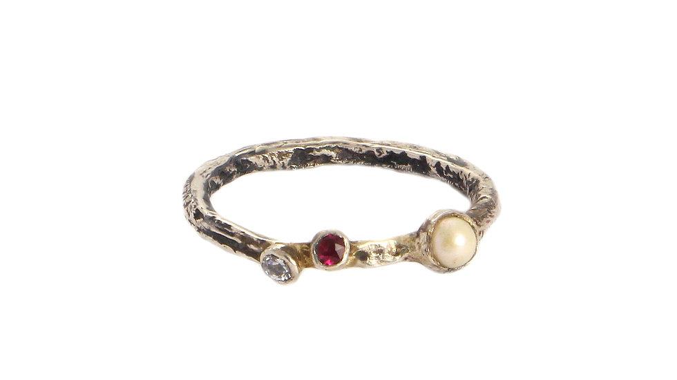 ADELINA silver ring