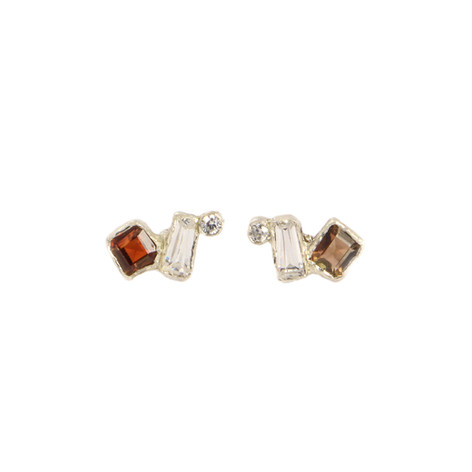 REINA earrings with Andalusite