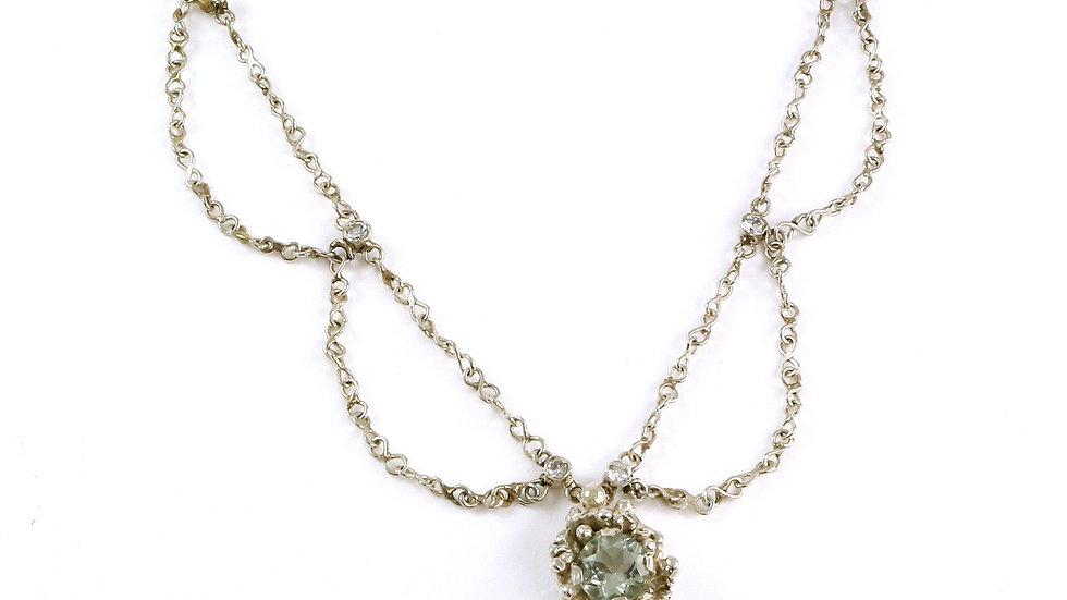 BUDOIR wave necklace