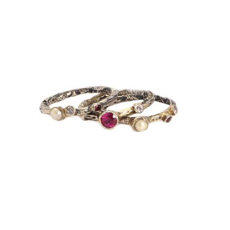 ADELINA set of three rings