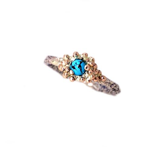 Engagement ring Turqoise