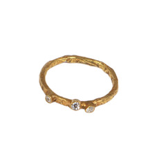 ROBIN gold plated ring