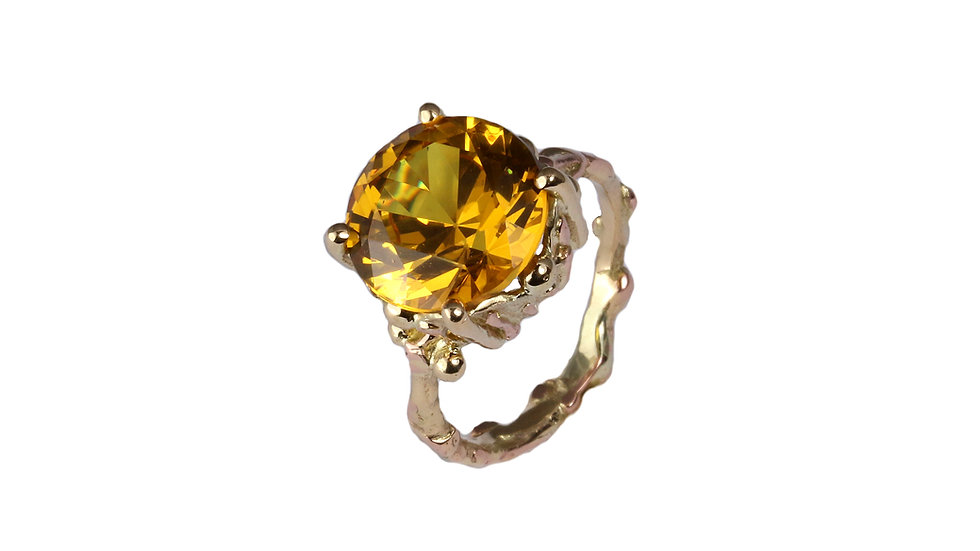 ONORA royal ring with Citrine