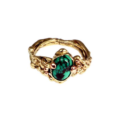 Turqoise engagement ring