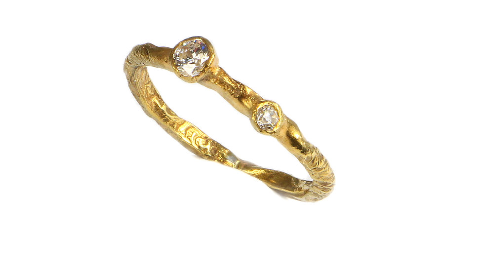 ROBINA gold plated ring