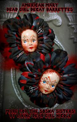 Soska Sisters Barrettes