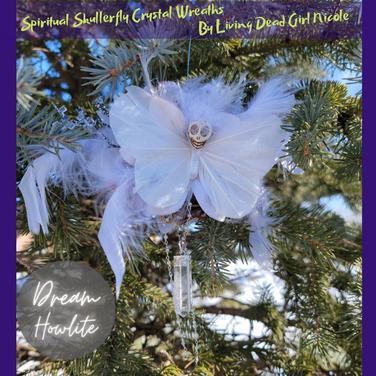 Howlite Skullerfly Crystal Wreaths Far.p