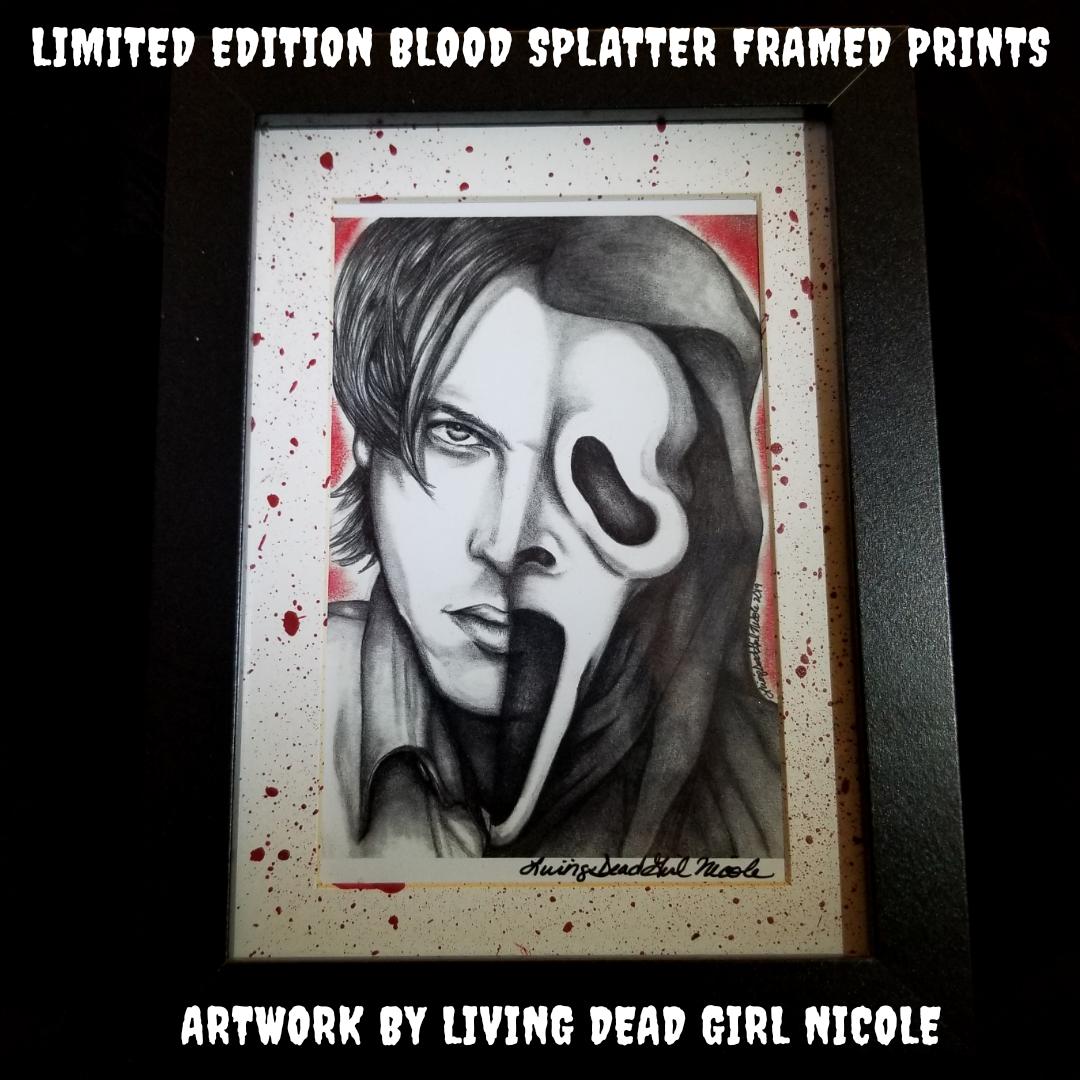 Scream Billy Loomis Blood Splatter
