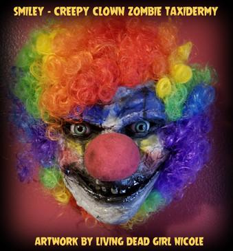 Taxidermy Clown Zombie