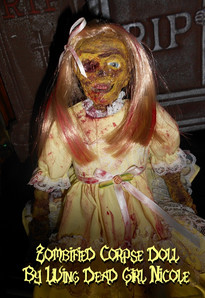 Flesh Eating Zombie Doll