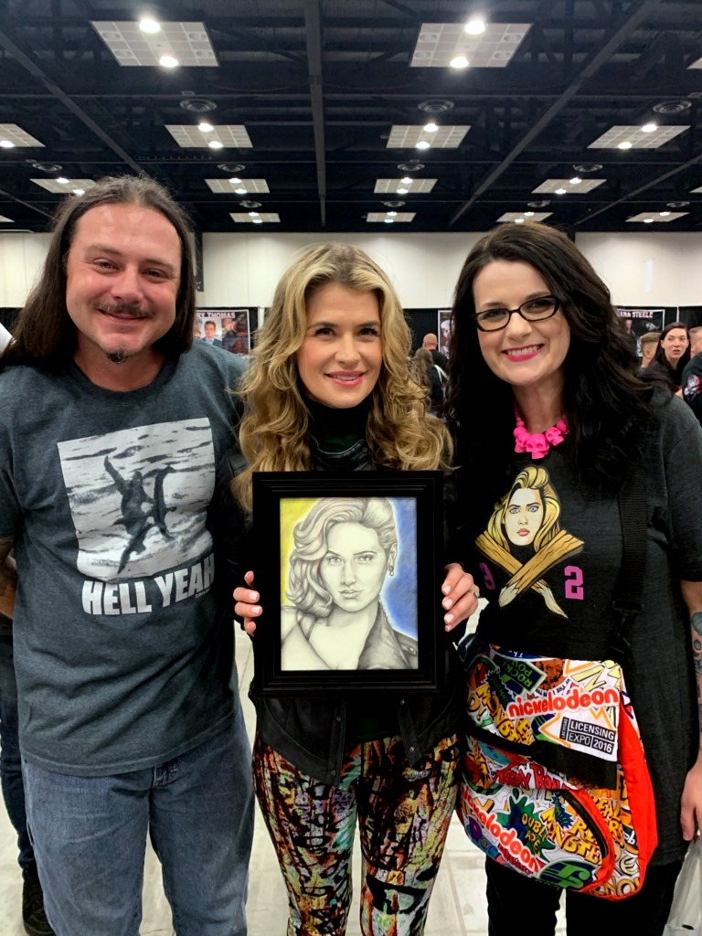 Gifting to Kristy Swanson