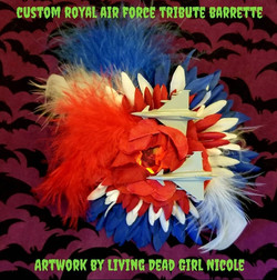 Royal Air Force Barrette By Living Dead
