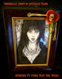 Sinderella Custom Framed Art Print