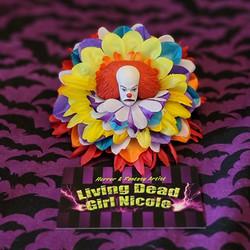 OG Pennywise Barrette By Living Dead Girl Nicole