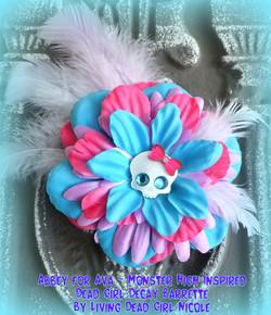 Monster High Abbey Barrette