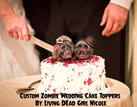 Zombie Cake Toppers