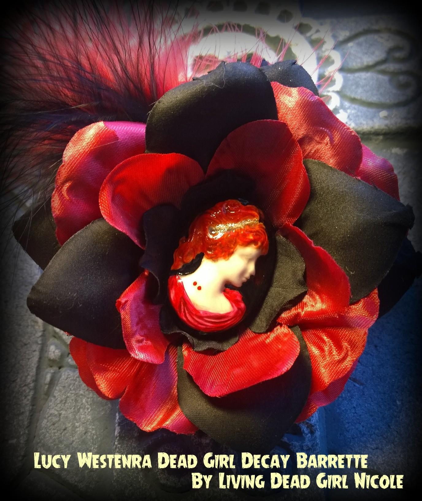 Lucy Bram Stoker Dracula Barrette