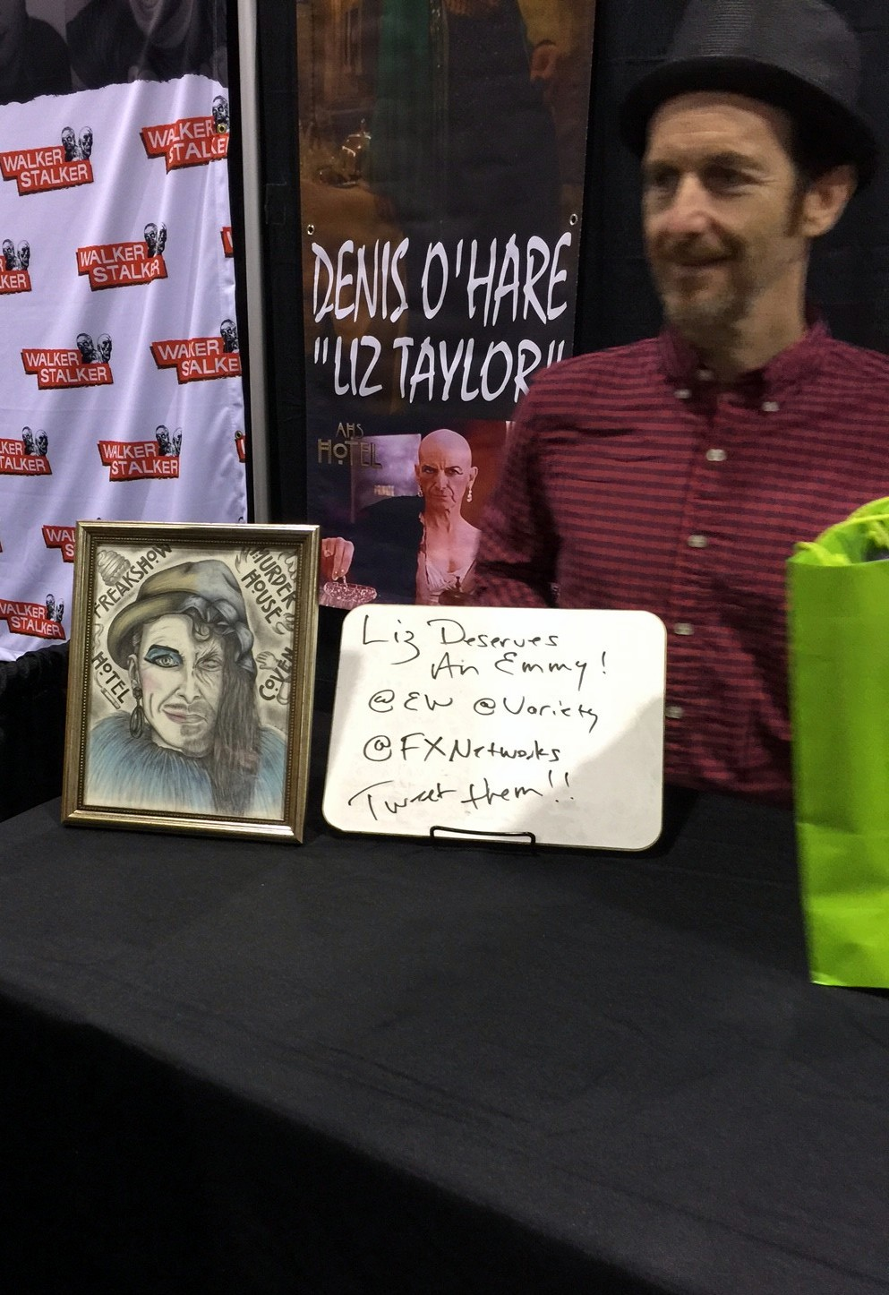 Denis O'Hare's Table